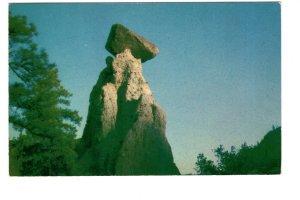 Balancing Rock, Kamloops Lake, Savona,  British Columbia