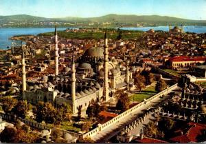 Turkey Istanbul Suleymaniye Mosque 1977
