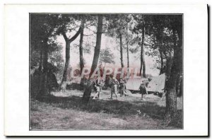 Postcard Old Scout Scout Jamboree Scouts