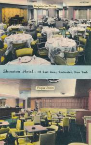 Sheraton Hotel - Dining Rooms - Rochester, New York - Linen