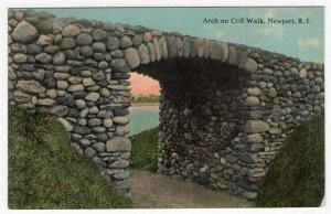 Newport, R.I., Arch on Cliff Walk