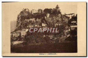 Old Postcard Chateau de Cornillon