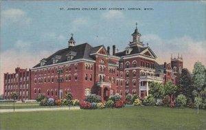 Michigan Adrian St Joseph College And Academy