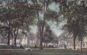 QUINCY, Illinois, PU-1907; Washington Park, Downtown