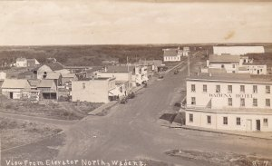 RP; WADENA, Saskatchewan, Canada, 00-10s ; Main Street view from Elevator, North