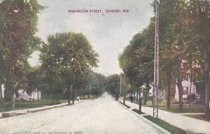 Wisconsin Oshkosh Superior Street 1912