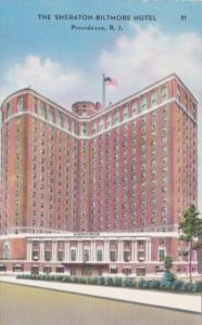Rhode Island Providence The Sheraton-Biltmore Hotel