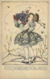 B.K.W. I. 111-3 Artist Signed Mela Koehler writing on back