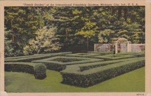 French Garden At The International Friendship Gardens Michigan City Indiana