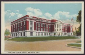 East Waterloo High School,Waterloo,IA Postcard