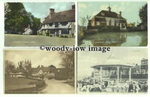 tp9628 - Kent - Ten Cards, of Various Early Town Scenes around Kent - postcard