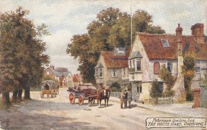 A.R.Quinton. Picturesque Coaching Inns. The White Hart GodstoneTuck Oilette PC