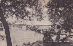 Camp Kosciusko Winona Lake Indiana Artvue