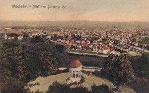 Germany Wiesbaden Blick vom Neroberge