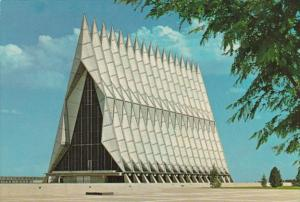 Colorado Colorado Springs United States Air Force Academy The Cadet Chapel