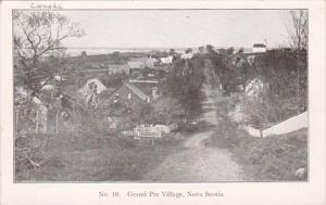 Canada Nova Scotia Grand Pre Village