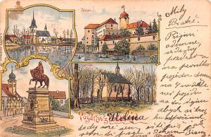Panama Old Vintage Antique Post Card Zamak 1903