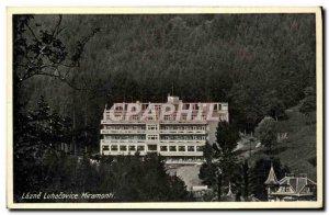 Old Postcard Lazne Luhacovice Miramonti