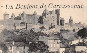 France Un Bonjour de Carcassonne Languedoc-Roussillon Castle Chateau