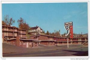 Klamath Falls Oregon Pony Pass Motel Hotel 50´s 60´ s