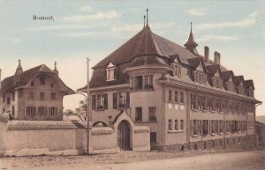 Romont , district of Glâne , canton of Fribourg , Switzerland, 00-10s Street...