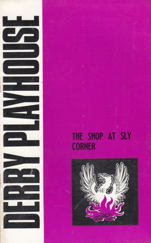 The Shop At Sly Corner Edward Percy Derby Playhouse 1970s Theatre Programme