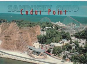 Ohio Sandusky Cedar Point Showing Roller Coasters