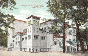 LPS73 Canton Ohio OH Postcard Meyers Lake Theatre