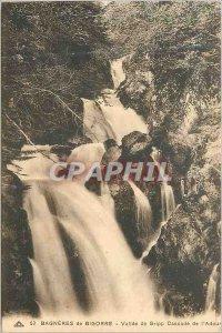 Postcard Old 53 Bagneres de Bigorre Valley Gripp waterfall of Adour