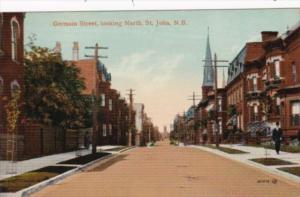 Canada New Brunswick St John Germain Street Looking North