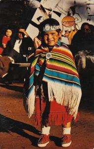 Young Indian Princess At Veteran Day Ceremonies Indian City USA Oklahoma 1970