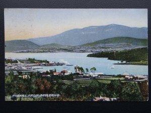 Australia Tasmania HOBART From Bellerive c1907 Postcard by J. Walsh & Sons
