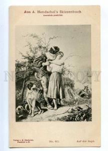 189348 Kiss of Hunter HUNT Pointer by Hendschel Vintage PC