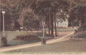 France Aix-les-Bains Les Jardins de la Villa des Fleurs Le Theatre en plein air