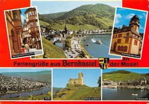 Bernkaastel an der Mosel, Kues Burg Landshut Promenade Spitzgiebelhauschen