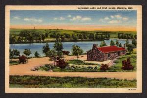 NE Fort  KEARNEY Wildlife Club House NEBRASKA Postcard