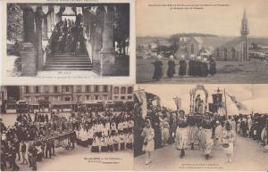 CATHOLIC BUILDINGS RELIGION FRANCE 1000 CPA (mostly pre-1940)