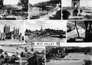 Wye Valley, Goodrich Castle Symonds Yat Monnow Bridge Tintern Abbey Catherdal