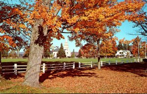 Vermont The Village Of Craftsbury Common
