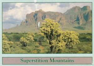 Arizona Superstition Mountains 1996
