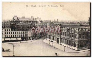 Old Postcard Lille Universile Overview