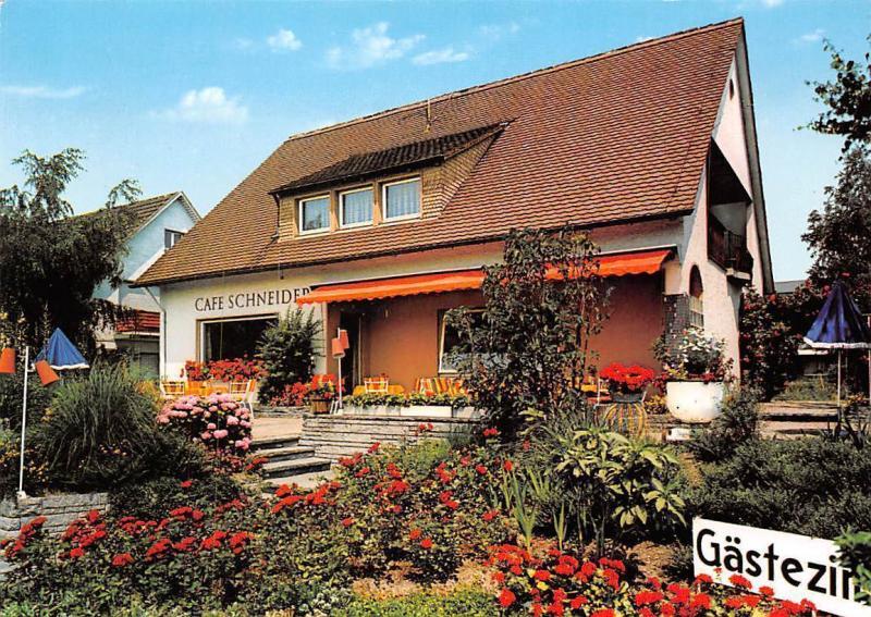 Allensbach Bodensee, Haus Regina Hotel Garni mit Cafe Schneider Pension