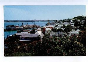 206410 BERMUDA St.Georges old town Vintage photo postcard