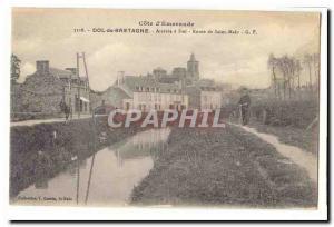 Dol de Bretagne Old Postcard Arrive in Dol Saint Malo Route