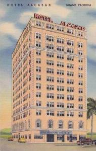 Florida Miami The Hotel Alcazar