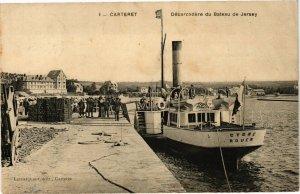CPA CARTERET - Debarcadere du Bateau de Jersey (128108)