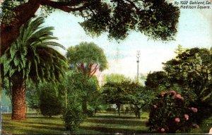 California Oakland Scene On Madison Square 1909