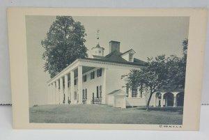 Mount Vernon East Side Virginia 1938 VTG Postcard