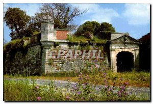Modern Postcard Brouage fortified city of the seventeenth century Royal door ...