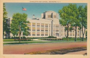 Rochester, New York - Charlotte High School - Linen